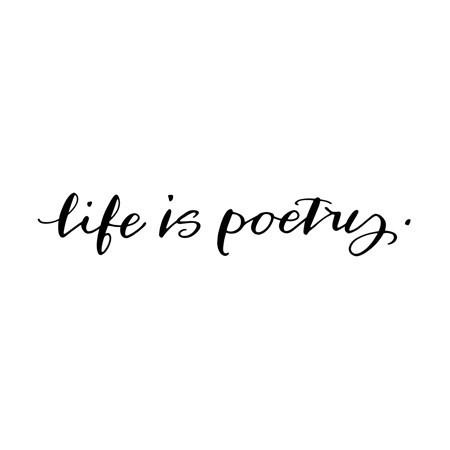 life is poetry | #wordstoliveby