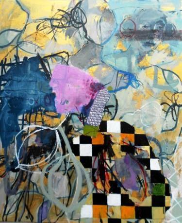 "Saatchi Art Artist RENATA KACOVA; Painting, ""INFINITY"" #art"