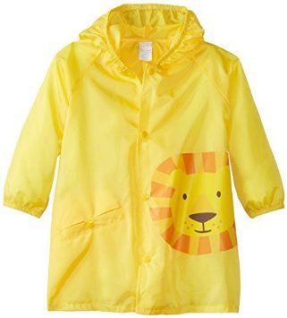 I confezione da bambino, per bambini Safari-Impermeabile, leggera e tascabile: leone, 6-9 mesi, colore: giallo, taglia: leone, 6-9 mesi