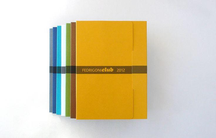 Calendario para el Fedrigoni Club, diseñado por PalauGea