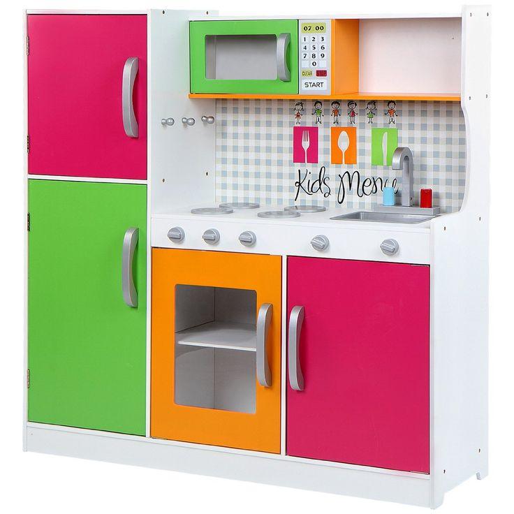 infantastic cocina de juguete con fuegos horno frigorfico y amazon