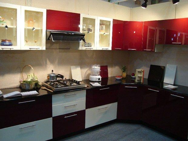 Cheap and best semi modular kitchen in chennai modular for Semi modular kitchen designs