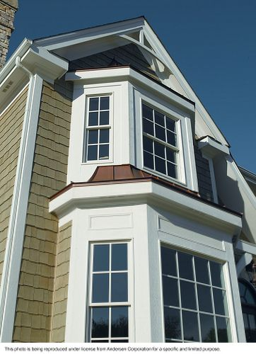 Andersen windows energy efficient 400 series tilt wash for Energy efficient bay windows