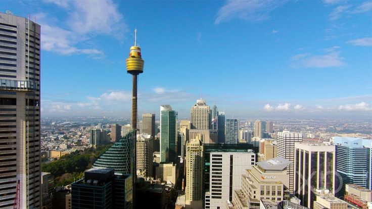 """Check out Martin Place, our """"civic heart"""" of Sydney from a bird's eye view."""