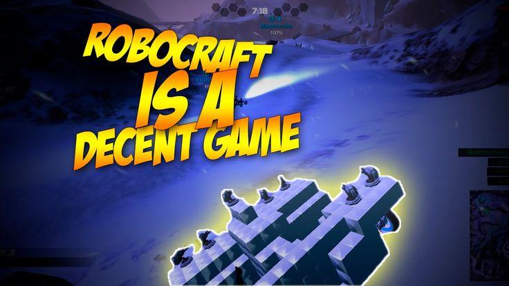 RoboCraft is a decent game!