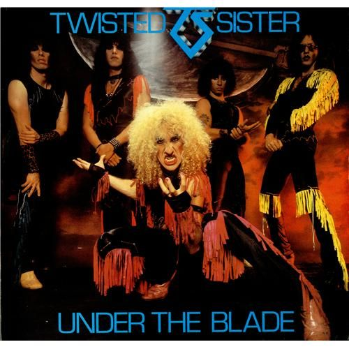 Twisted Sister,Under The Blade,UK,Deleted,LP RECORD,422767
