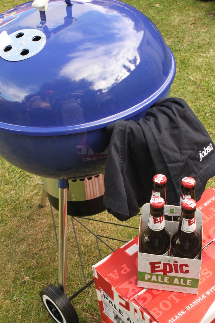 Webber BBQ - in our colours of course! this color is even better in person, i know i have it