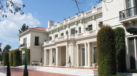 Huntington Library - Pasadena, CA - Real Estate Baron and Railroad mogul Henry Huntington museum, home and gardens.  Awesome!