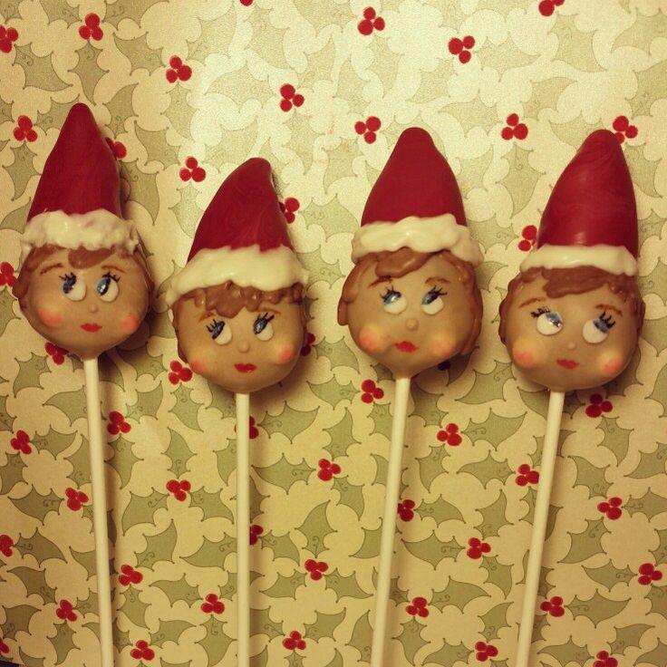 Christmas Cake Pops On Pinterest