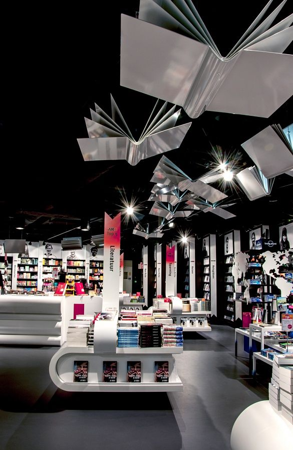 Tjep Was Responsible For The Interior Design Of AKO Flagship Store At Schiphol Airport