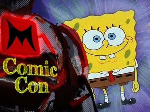 Spongebob Squarepants Voice Actors Interview with Tom Kenny and Bill Fagerbakke (SDCC 2012)