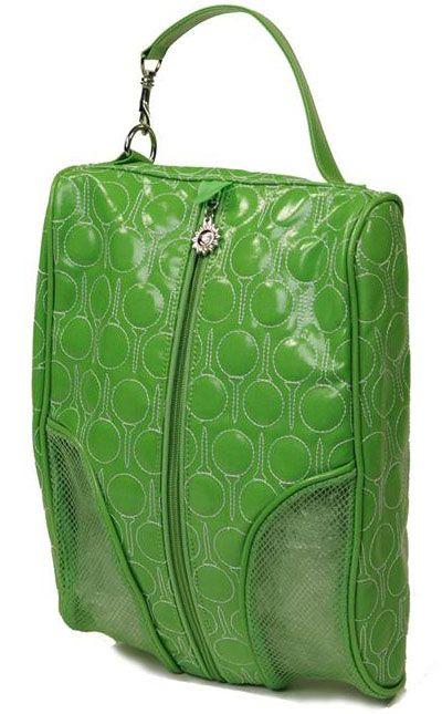 Sunny Hawaii Ladies Golf Shoe Bags - Green
