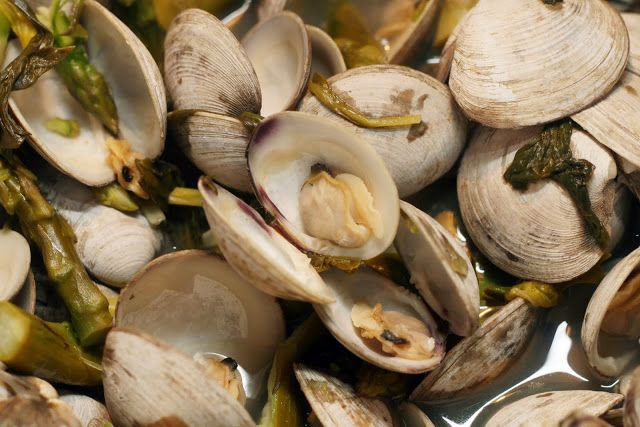 how to clean little neck clams