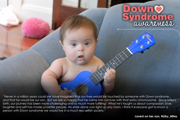 Miles; Peace, Love & Down Syndrome @National Down Syndrome Society