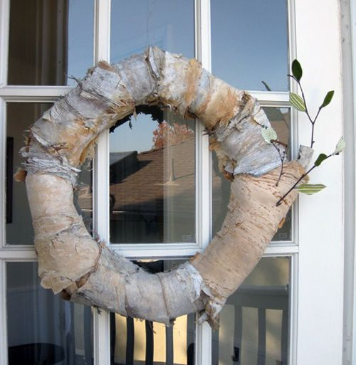 Bark and straw fall wreath.: Birches Bark, Wreaths Fall, Diy Tutorial, Fall Straws Wreaths, Fall Wreaths, Autumn Wreaths, Twig Wreaths, Winter Wreaths, Diy Projects