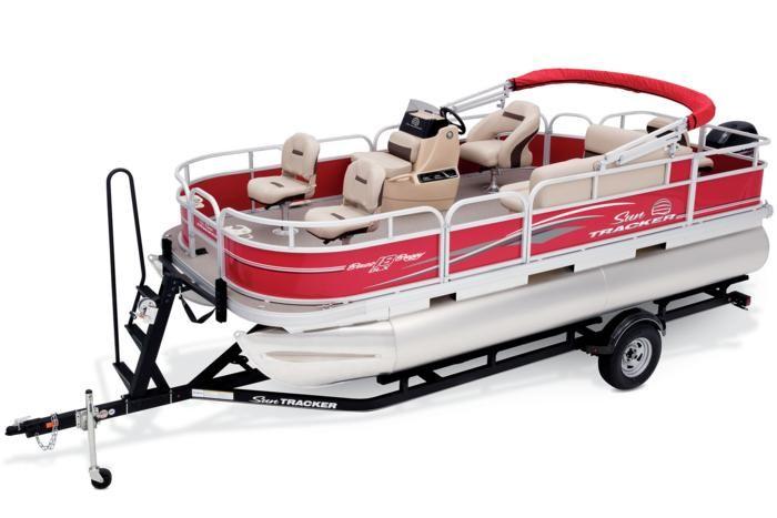 SUN TRACKER Boats : Fishing Pontoons : 2017 BASS BUGGY 18 DLX Description