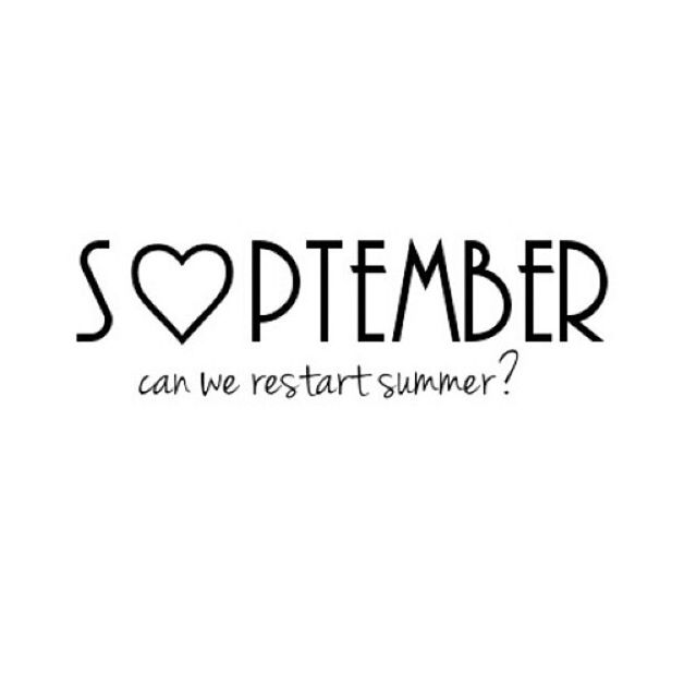 September Days Amp Months Pinterest September