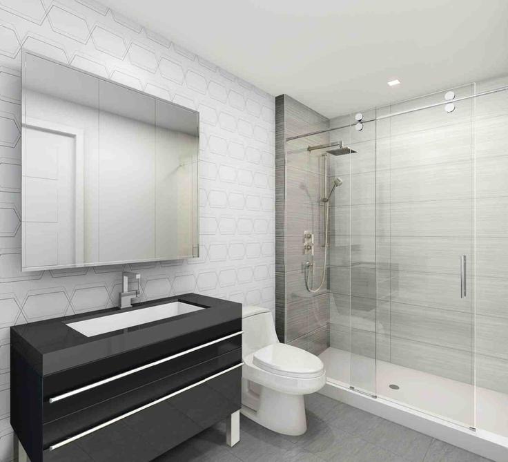 Modern Bathroom Kubik Condos Montreal My Condo Pinterest Montreal