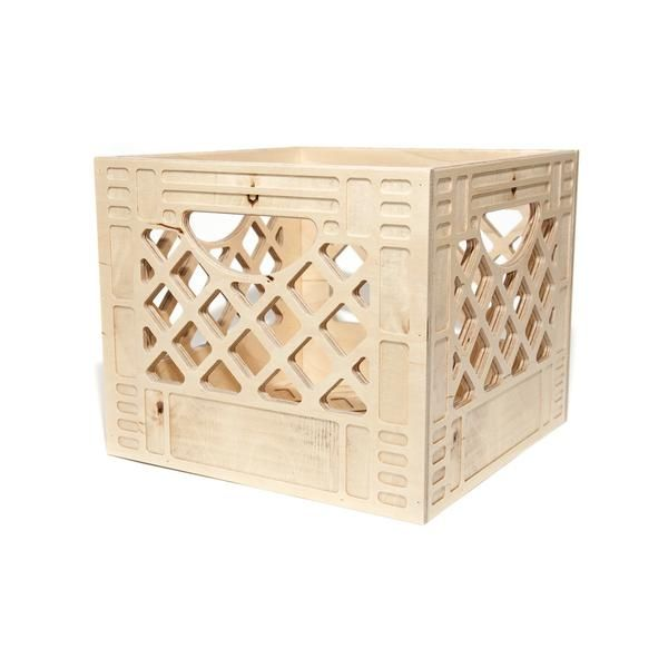 It's a chair, it's a table, a shelf, no wait.. it's a wooden milk crate! Milk crates are one of the most useful and versatile containers. It can be flipped, stacked, carried or wall-mounted, to fit any of its multi-use functions.It is no wonder they go missing from milk companies from time to time (all of the time). Little did anyone know, milk companies take milk crate theft very seriously...Sometimes punishable by fines or imprisonment. Yikes! You wont have to worry about any ...