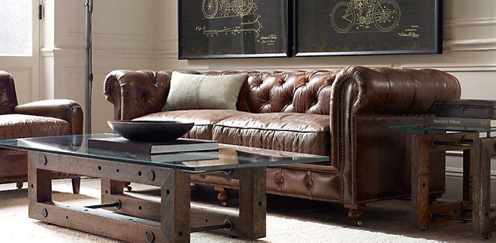 Petite Kensington Restoration Hardware Furniture