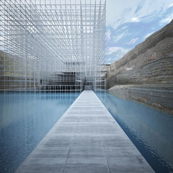 GM architects sinks museum of civilizations into beirut square