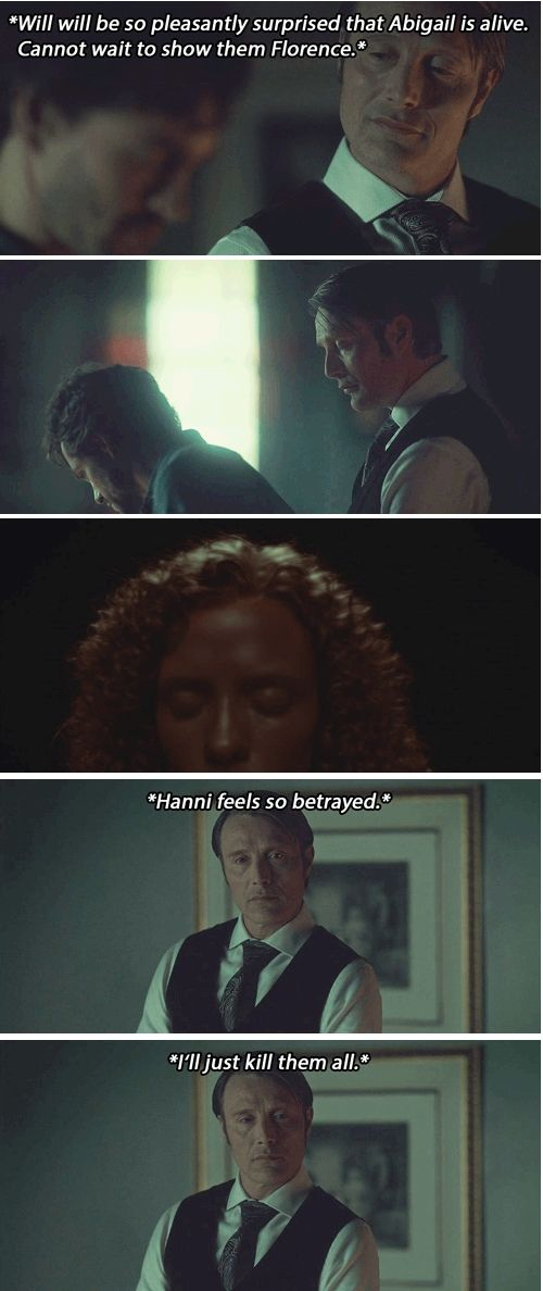 Hannibal edit 2x13 Mizumono. - Well, that escalated quickly. Yet, I feel so sorry for him.