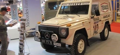 """Lassen Sie sich ein """"G"""" für ein """"Ickx"""" vormachen - #Mercedes 280 GE Paris-Dakar"""