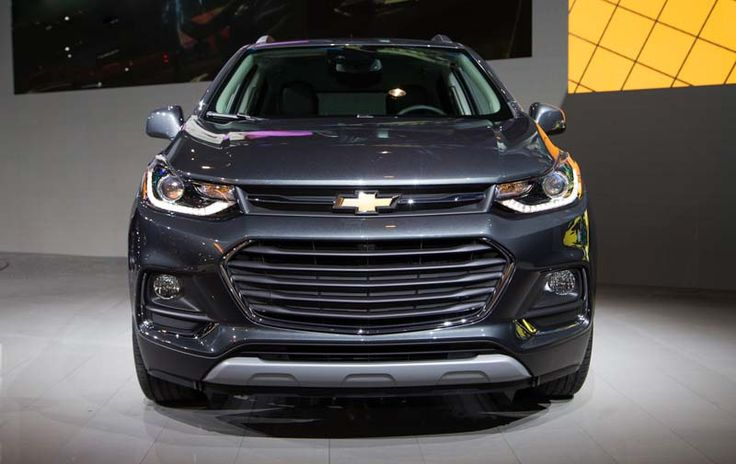2018 Chevy Trax overview