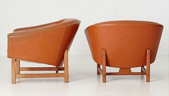 "103. Lennart Bender, ""Corona"", armchairs, 1 pair"
