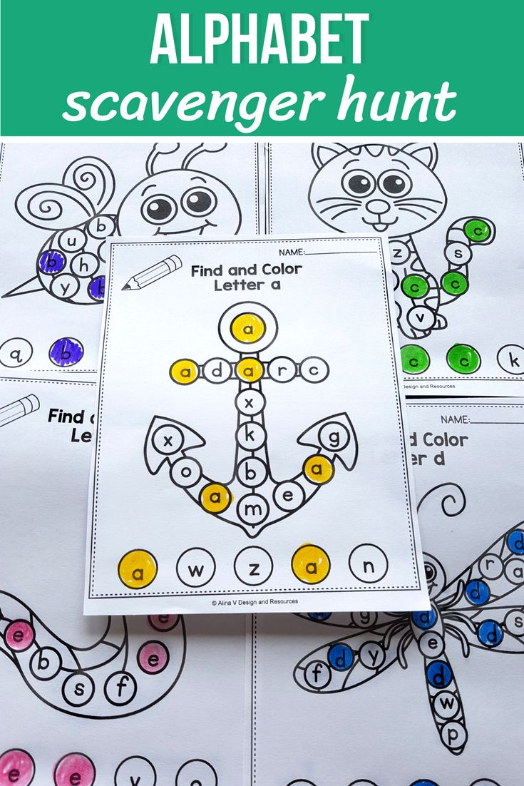 hight resolution of I Spy Letter Sounds Bubble Letters Alphabet Worksheets Preschool   Alphabet  worksheets preschool