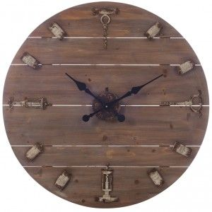 17 meilleures id es propos de horloge murale vintage sur pinterest horloge murale l horloge. Black Bedroom Furniture Sets. Home Design Ideas