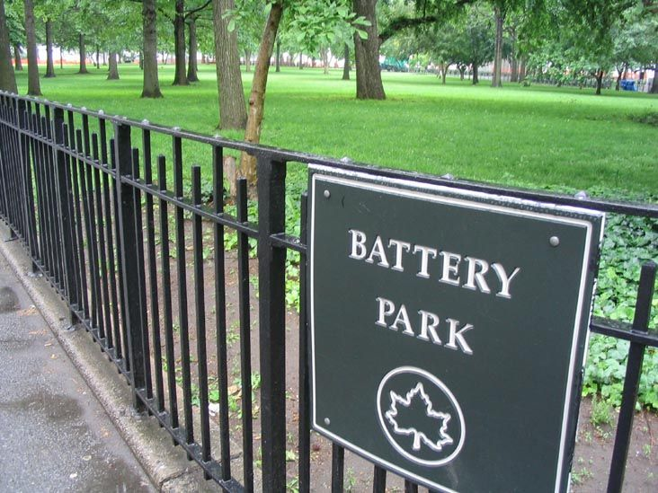 This 25-acre park is named for the artillery batteries that were positioned there in the city's early years to protect the settlement behind them. Interesting Park http://ourtravelingblog.com/2015/11/13/our-visit-to-historic-battery-park-ny/