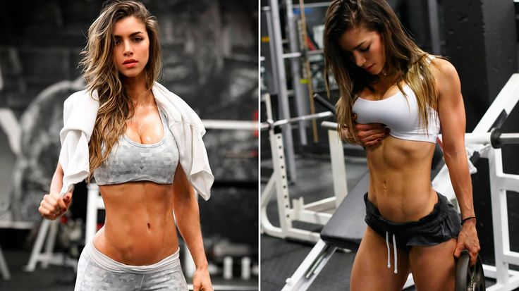 Colombian fitness goddess