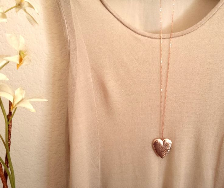 9 best accessories images on pinterest belly button piercing heart locket necklace long necklace locket necklace vintage rose gold necklace pendant aloadofball Choice Image