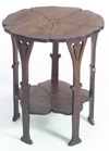 Gustav Stickley poppy table. Meant to buy a reproduction of this, for the living room!