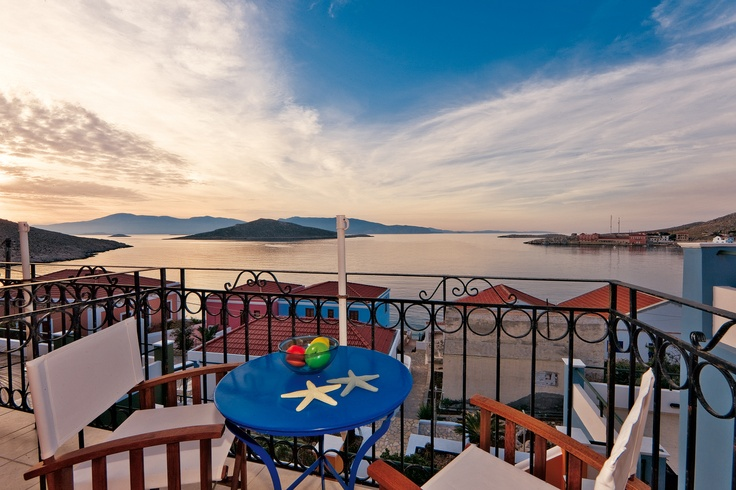 With views like this one, you know you'll have an amazing time. Halki is waiting for you. Check out villa Atracousa!