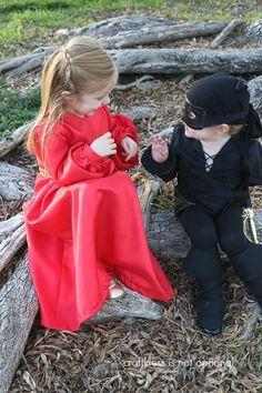 Kid's Costume Idea: Princess Bride Costumes