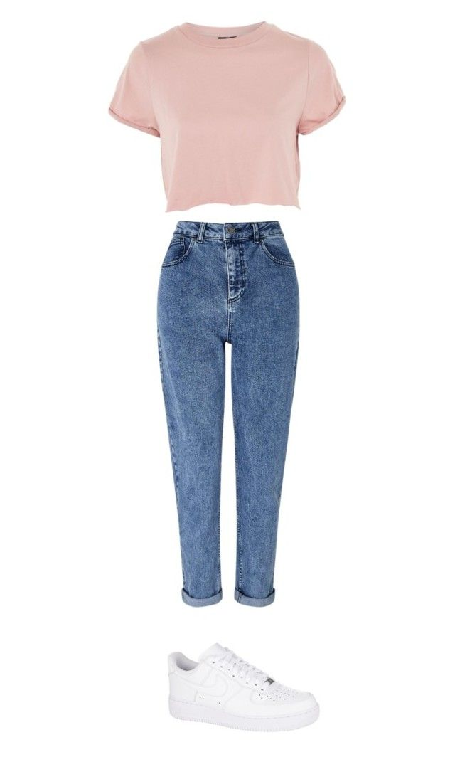"""""""Untitled #119"""" by arcaliste on Polyvore featuring Miss Selfridge, NIKE and Topshop"""