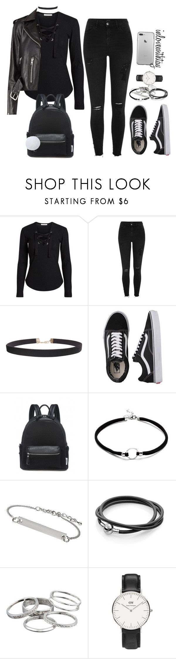 17❤ by inlovewithtay on Polyvore featuring mode, River Island, Vans, Daniel Wellington, Kendra Scott, Humble Chic and Topshop