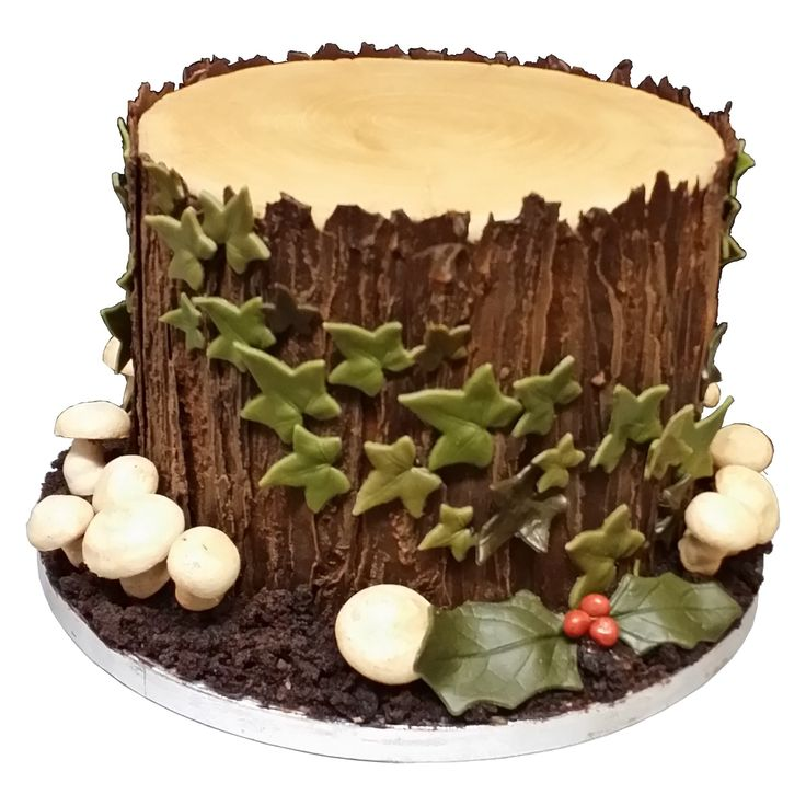 Christmas Yule log chocolate cake – Andrew Blake Craft & Design