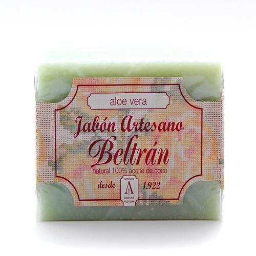 Jabón de Aloe Vera - Jabones Beltrán - 100gr, 2.50€ en Viva Nutrición - Regenerador e hidratante para pieles sensibles, normales y secas.