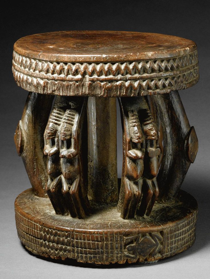 570 Best Images About African Art Chairs Stools