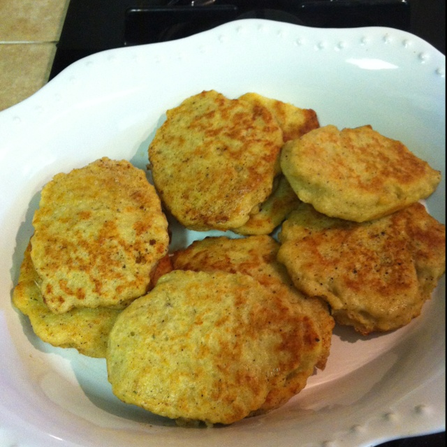 Norwegian fish patties.  1lb raw skinless boneless codfish 2 1/2 cups flour 1/2 cup milk or cream 2 eggs 1 tsp cloves 1 tsp dry dill 1 tsp nutmeg 2 tsp salt 2tsp pepper 1 tsp ginger paste.   Mix in blender or food processor. It will be runny:) Sautee in pan in butter until golden. Serve with potatoes and green peas.  I also make a cold saus with 1 tsp Dijon mustard and 1cup 1/2 & 1/2. Salt and pepper to taste. Drizzle over warm patties. Yummy!