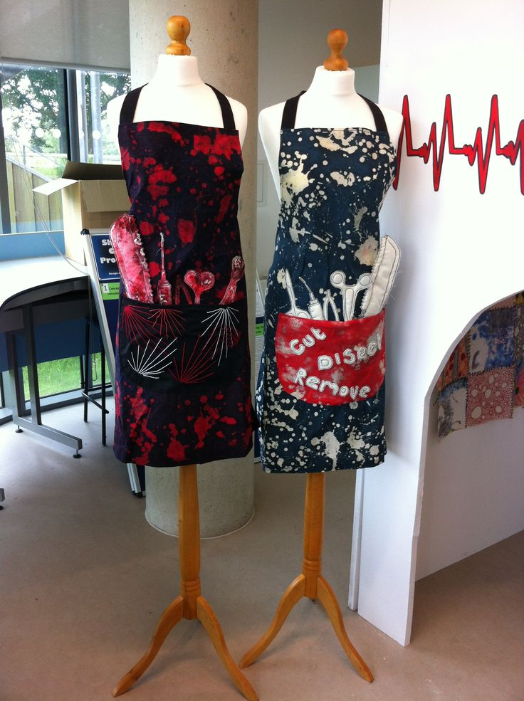 Surgon aprons - before and after