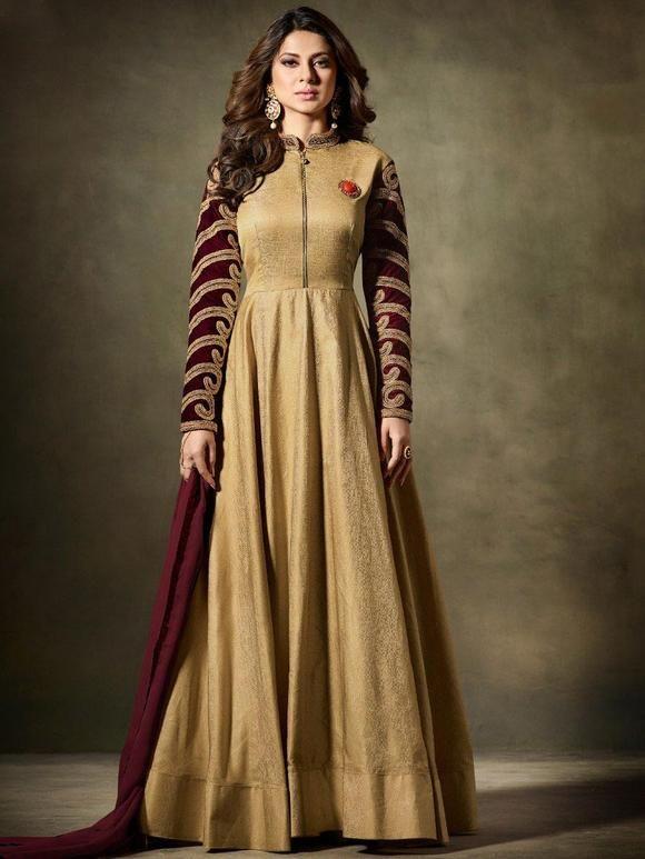 0d2109d521 Pin by Liinara | Designer Ethnic Wear Store on Jennifer Winget Salwar Suit  and Anarkali Suit | Anarkali suits, Wedding salwar suits, Designer anarkali  ...