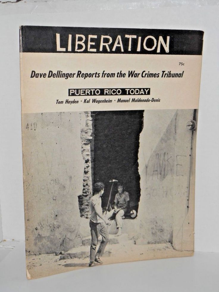 Liberation Anti-War  Magazine April 1967 Tom Hayden  Abbie Hoffman  A. Ginsberg