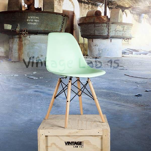 Eetkamerstoelen : DSW style stoel mint - Vintagelab15.com