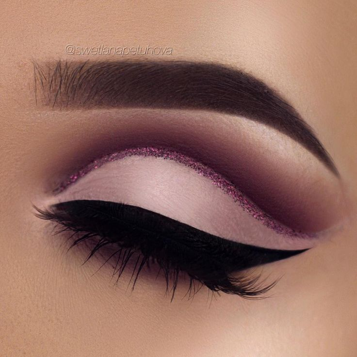 Glitter Cut Crease Eye Makeup Mugeek Vidalondon
