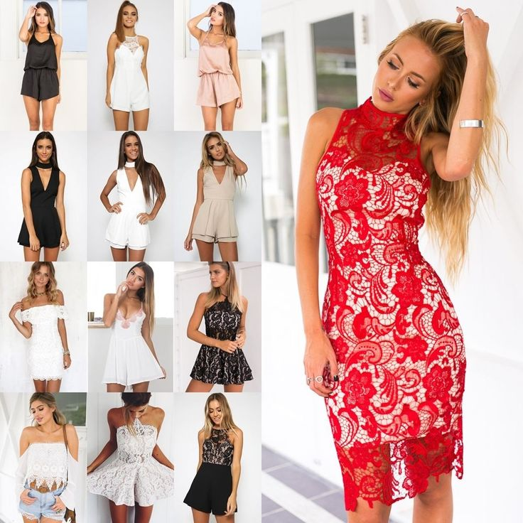 UK Womens Holiday Mini Playsuit Ladies Jumpsuit Summer Beach Dress Lot Size 6-14