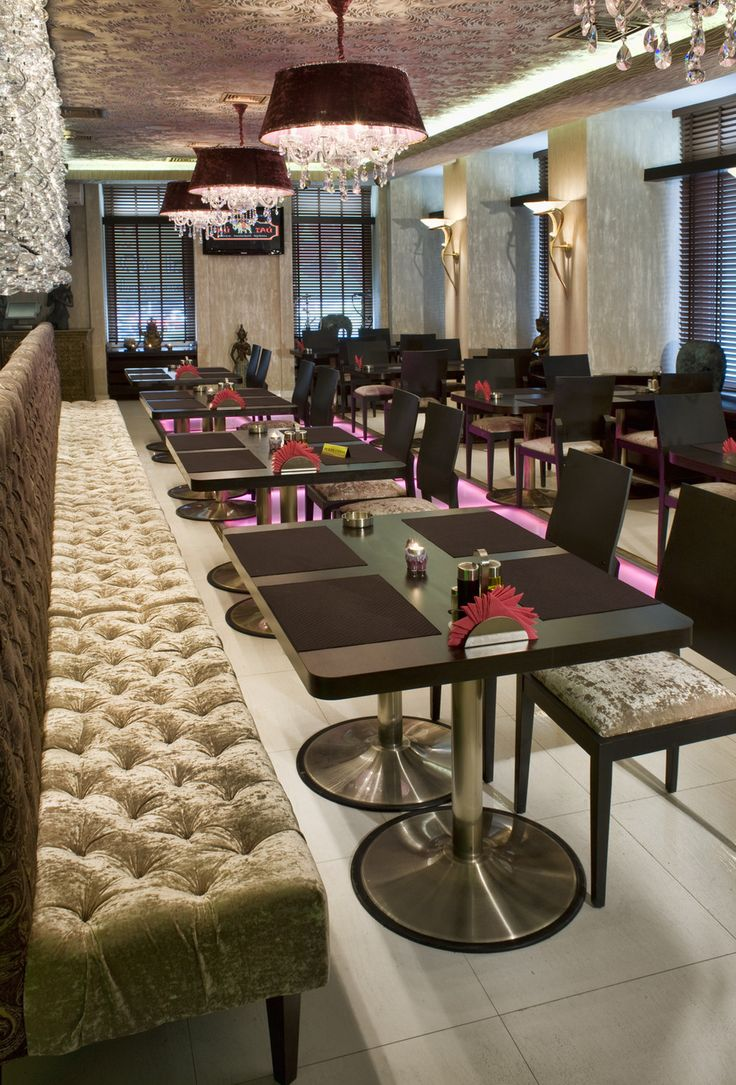 Ресторан Тай-Тай на Поварской - Лучшее текстильное оформление ресторана, кафе или бара | PINWIN - конкурсы для архитекторов, дизайнеров, декораторов